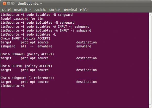 how to open port 22 ubuntu