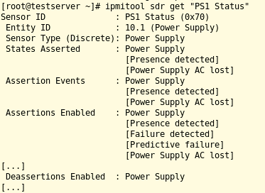 Serverhardware mit dem IPMI-Plugin für Nagios ü    » ADMIN