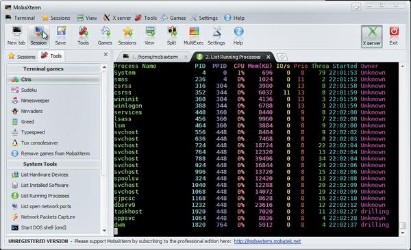 MobaXterm: Linux-Remotedesktop für Windows » ADMIN-Magazin