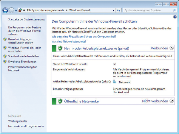 Windows Firewall Admin Magazin