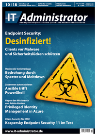 10/2018: Endpoint Security » ADMIN-Magazin